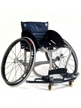 Silla de ruedas deportiva ALL COURT Titanio de Quickie