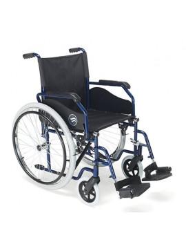 Silla de ruedas de acero BREEZY-90  Plegable | Sunrise