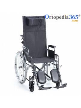 Silla de ruedas reclinable