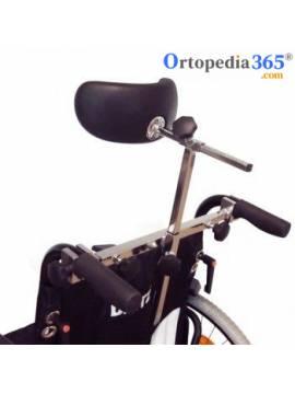 Sistema de fijación con cabezal para sillas de ruedas...