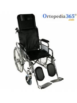 Silla de ruedas de acero OBELISCO  Plegable | Mobiclinic