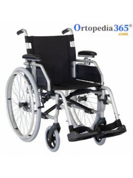 Silla de ruedas de acero APOLO  Plegable