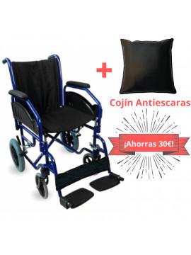PACK DE SILLA DE RUEDAS + COJÍN ANTIESCARAS