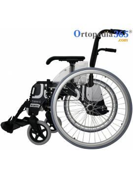 Silla de ruedas BASIC | Aluminio Plegable | Pasos extrechos