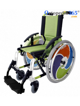 Silla de ruedas Line Infantil | Plegable | Aluminio | Forta